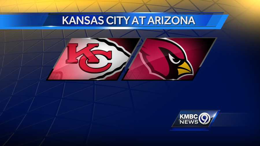 WEEK FOURTEEN: The Kansas City Chiefs will play the Cardinals in Arizona on Sunday, Dec. 7 at 3:05 p.m.