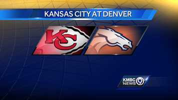 WEEK TWO: The Kansas City Chiefs will play the Broncos in Denver on Sunday, Sept. 14 at 3:25 p.m.