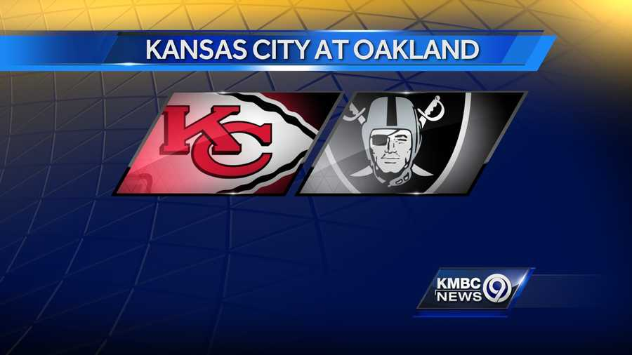 WEEK TWELVE: The Kansas City Chiefs will play the Raiders in Oakland on Thursday, Nov. 20. It will be carried on NFL Network.