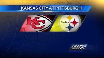 WEEK SIXTEEN: The Kansas City Chiefs will play the Steelers at Pittsburgh on Sunday, Dec. 21 at noon.