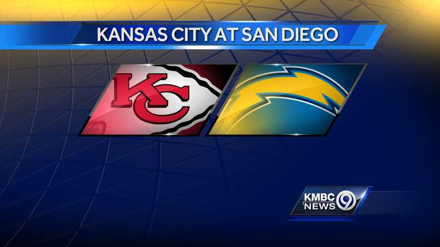 WEEK SEVEN The Kansas City Chiefs will play at the San Diego Chargers on Sunday, Oct. 19 at 3:05 p.m.