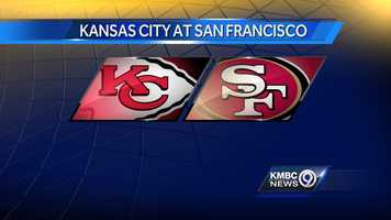WEEK FIVE: The Kansas City Chiefs will play the 49ers in San Francisco on Sunday, Oct. 5 at 3:25 p.m.