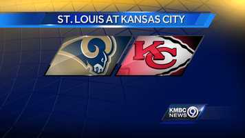 WEEK EIGHT: The St. Louis Rams will play the Kansas City Chiefs at Arrowhead on Sunday, Oct. 26 at noon.