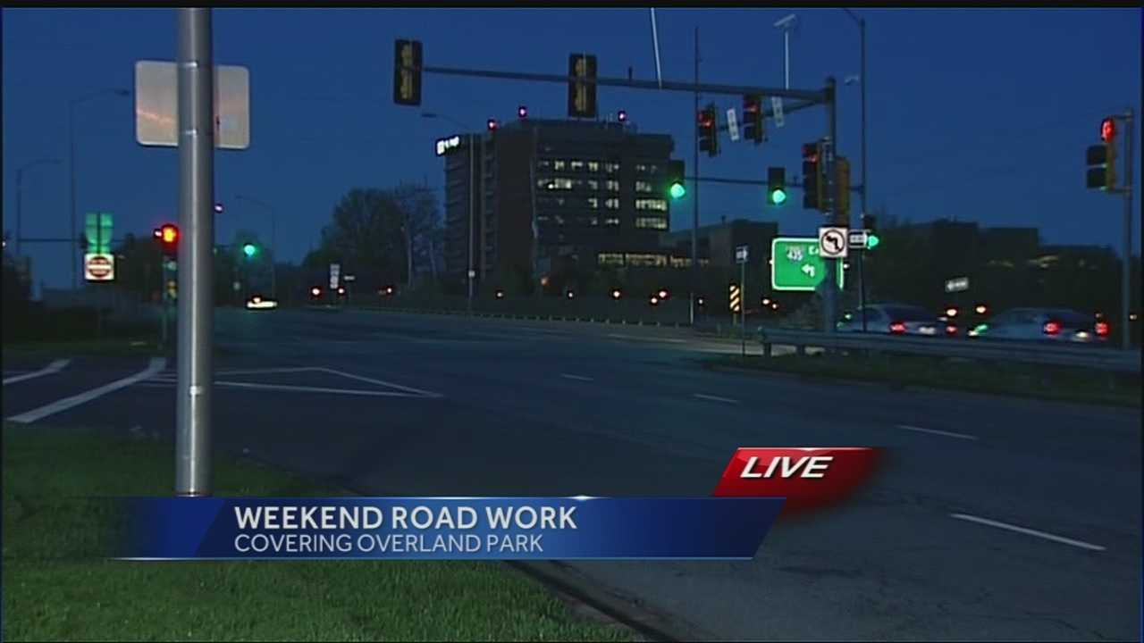 Construction work begins for new interchange at I-435, Roe Avenue