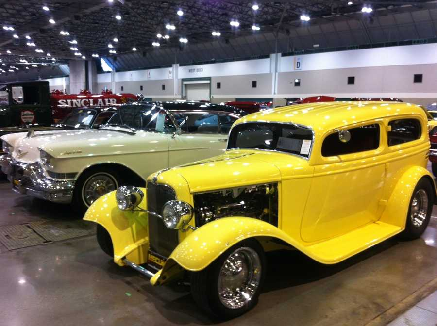 Images from the Mecum Kansas City Spring Auction, happening Friday and Saturday at Bartle Hall in downtown Kansas City, Mo.