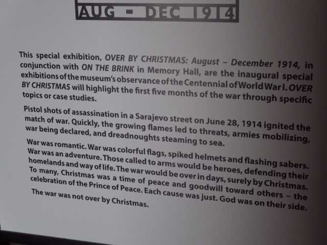 "Images from ""Over by Christmas,"" a new special exhibition at the World War I Museum at the Liberty Memorial."