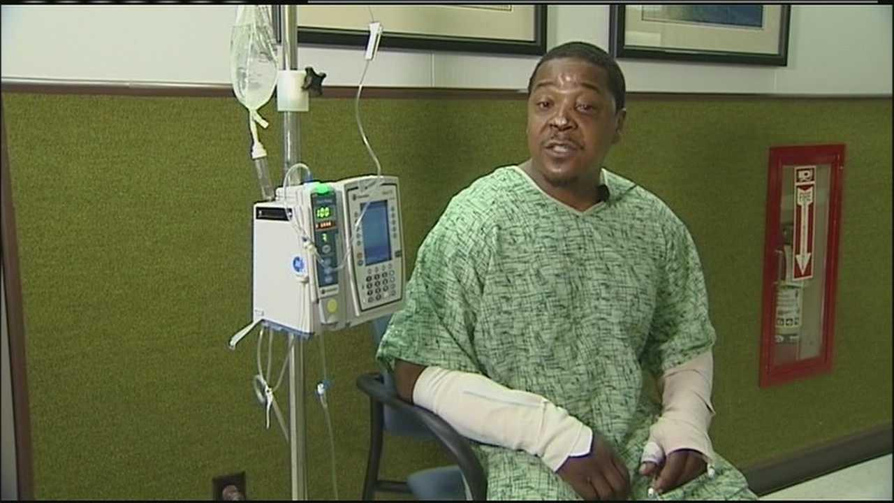 Image Riley Carter, injured in dog attack