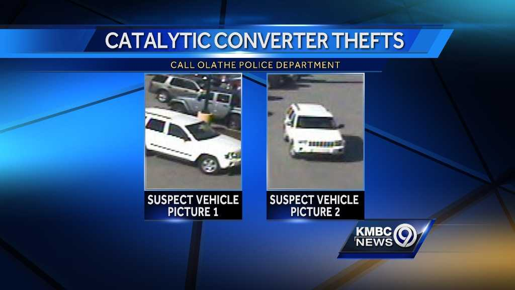 Image Catalytic converter thefts