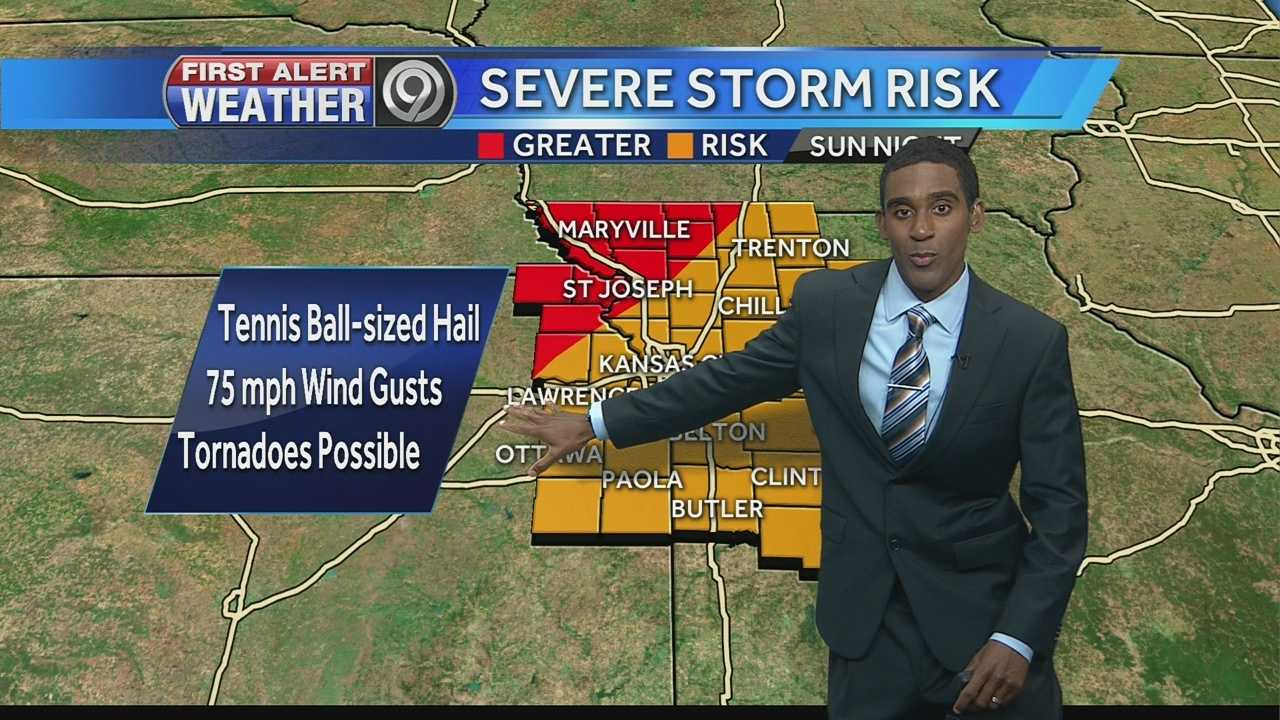 Threat for more storms continues Sunday night