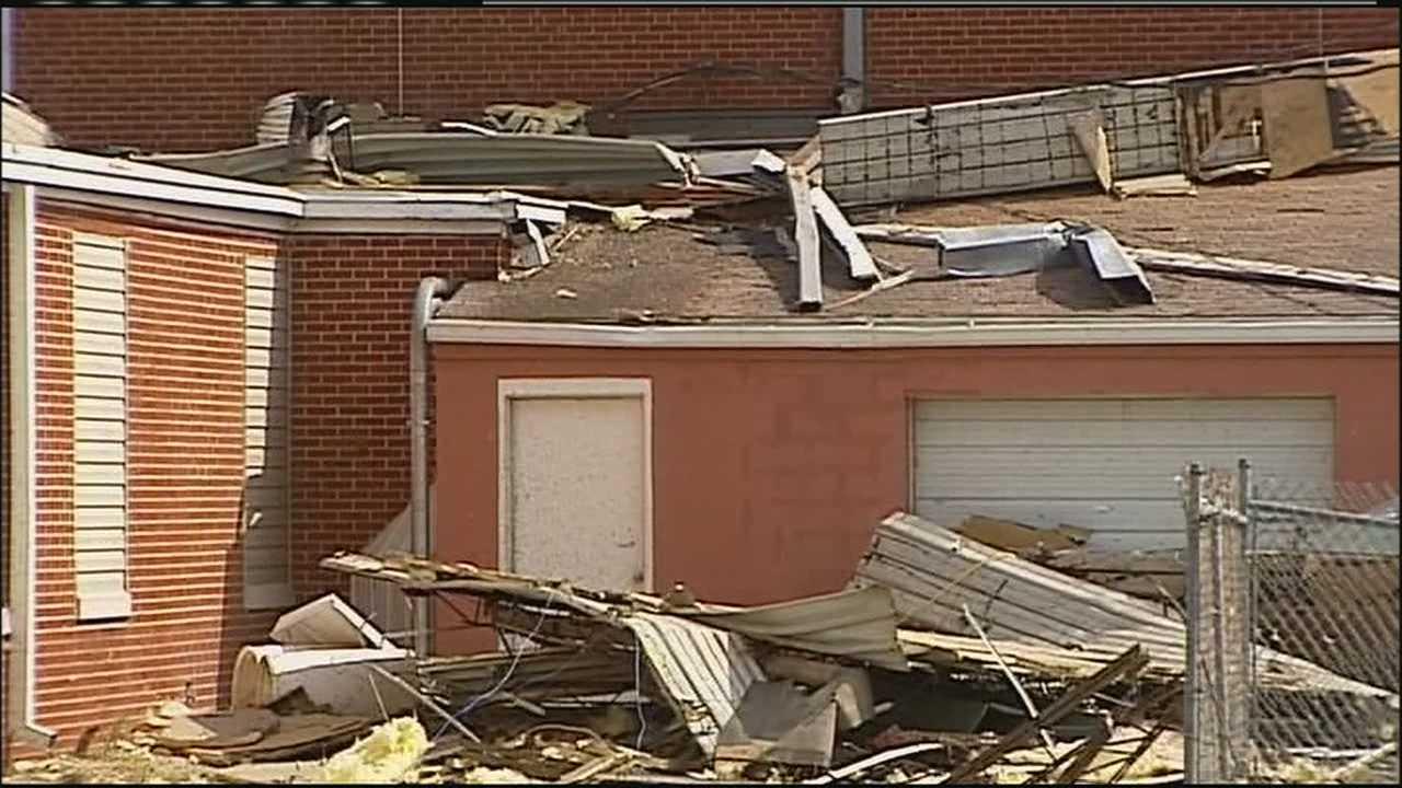 Orrick school damage