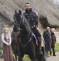 """""""Galavant"""" will premiere at midseason.It's a musical fairy tale about a knight who's trying to reclaim the love of his life from the king who took her away from him."""