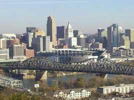 No. 3 -- Cincinnati, OH