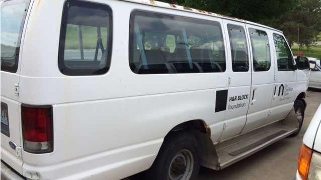 Van similar to stolen Don Bosco center van