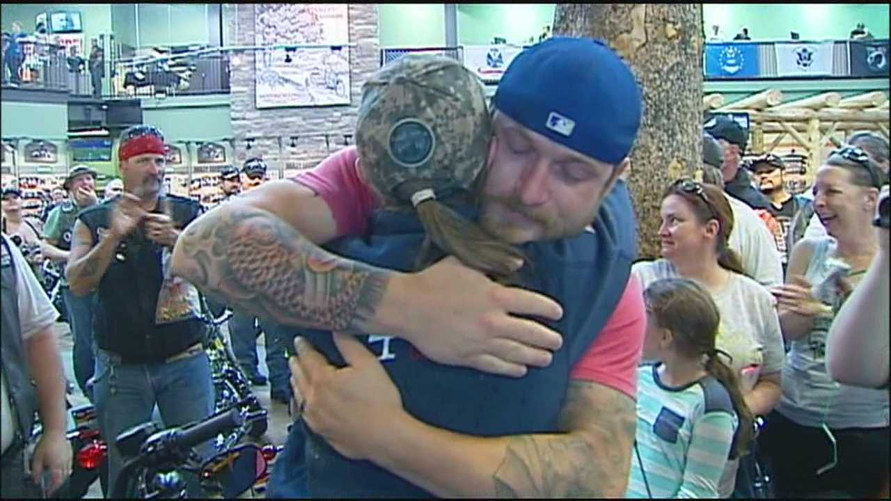 On the eve of Memorial Day, a Kansas City-area veteran gets a life-changing surprise.