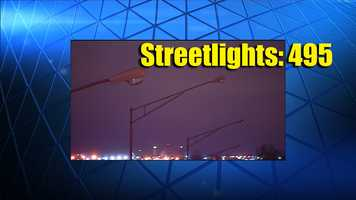 Lenexa residents were most concerned about streetlights. Of the more than 3,600 service requests with the 311 service, nineteen percent were about streetlights.