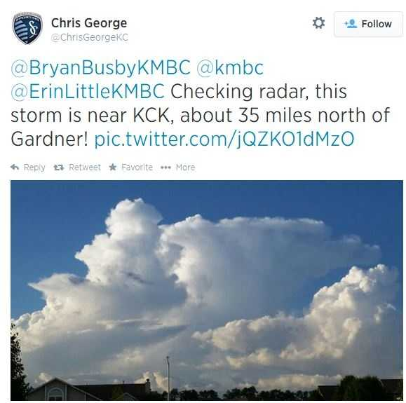 Chris really started this with a couple tweets from Gardener, KS.