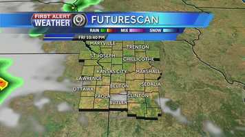 Storms could roll into the Kansas City late Friday night and linger well into your Saturday.