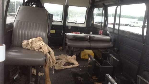 Image Don Bosco Center van recovered