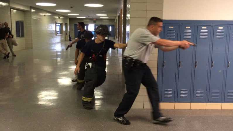 Image Active shooter training