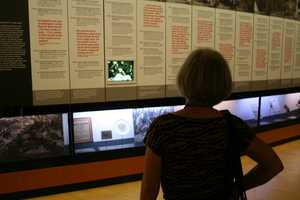 Video documentaries play throughout the museum, but not in an intrusive fashion.