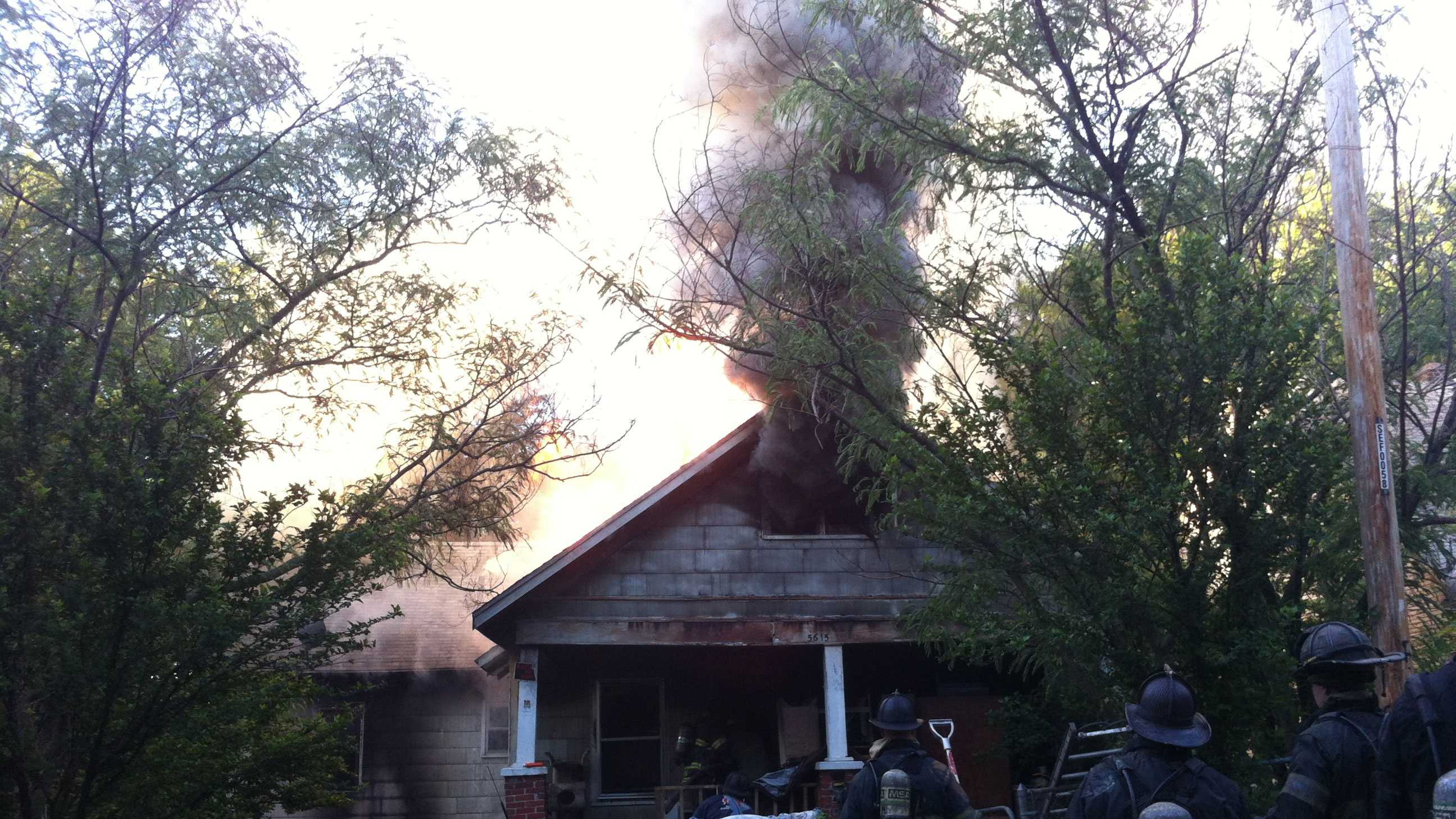 Bonita Avenue house fire
