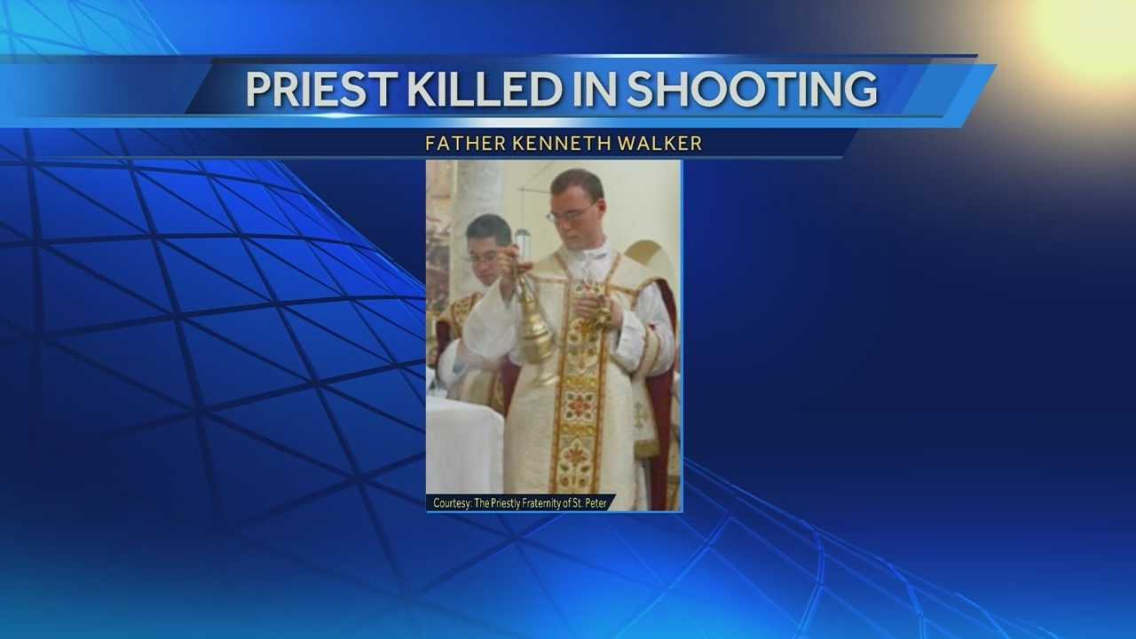 Phoenix police release the 911 from an attack that killed a priest with Kansas ties.