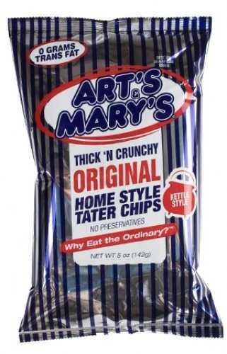 Art's & Mary's chips, Cheney, Kansas