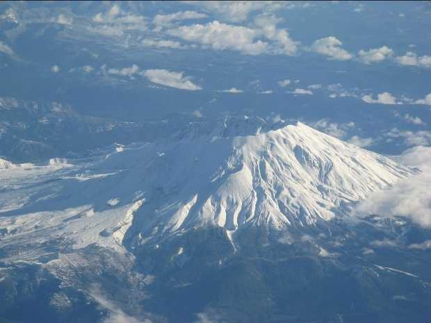Mount St. Helens had erupted.