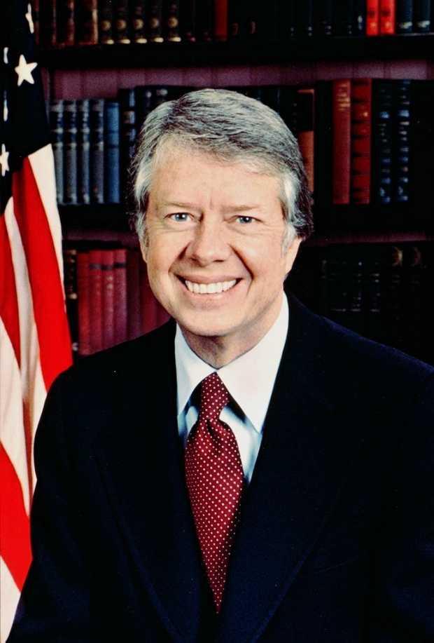Jimmy Carter was president.