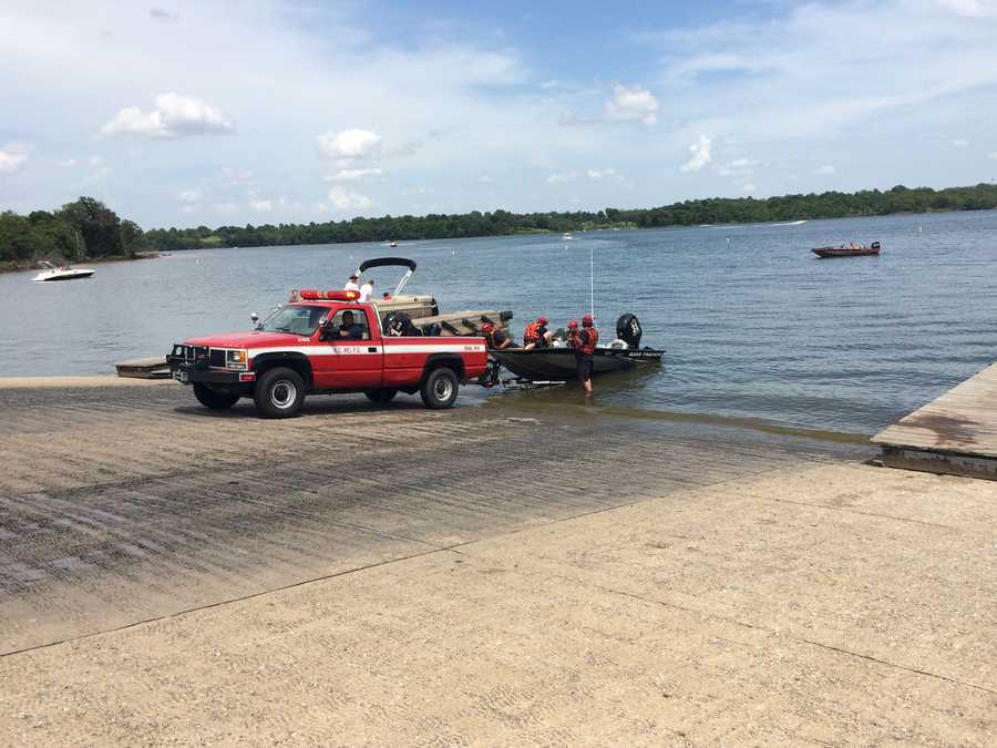 Rescue crews recovered a body at Longview Lake on Saturday.