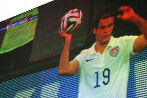 Graham Zusi of SportingKC continued his solid play in World Cup 2014.