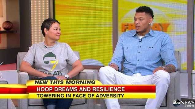 The NBA selected Isaiah Austin in Thursday's draft, fulfilling a portion of his life dream.  He appeared on GMA Friday morning with his mother, Lisa Green.