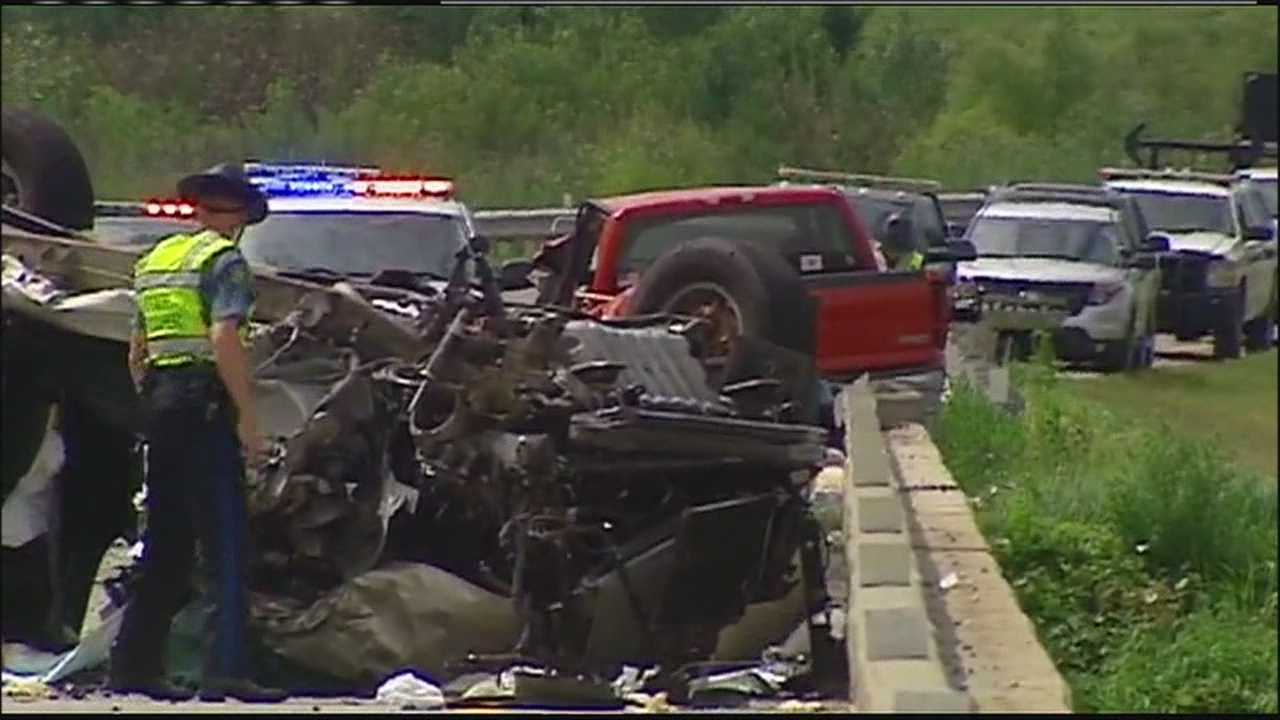 A high-speed chase on Interstate 29 ended in a fatal head-on crash near Platte City, Missouri.