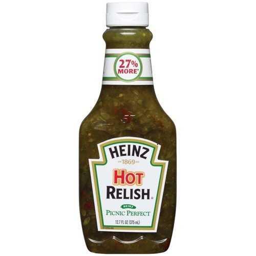 10. Hot relish