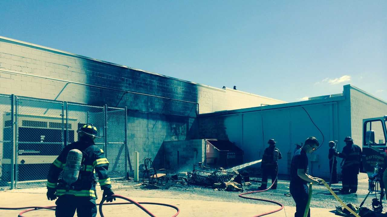 63rd, Woodson fire image 2