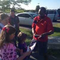 """KMBC 9 News Chief Meteorologist Bryan Busby signs autographs with kids as our """"Hometown Weather"""" series begins. Our weather team will be live at a variety of different outdoor locations during the month of July. Watch live reports on KMBC 9 News at 5 and 6 p.m. Of course, you can also look on Twitter and Facebook for our locations daily and come visit."""