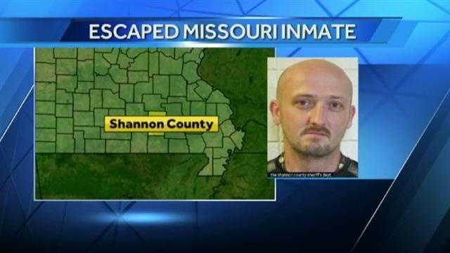 Image Missouri prison escapee