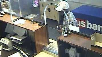 Attempted robbery at U.S. Bank