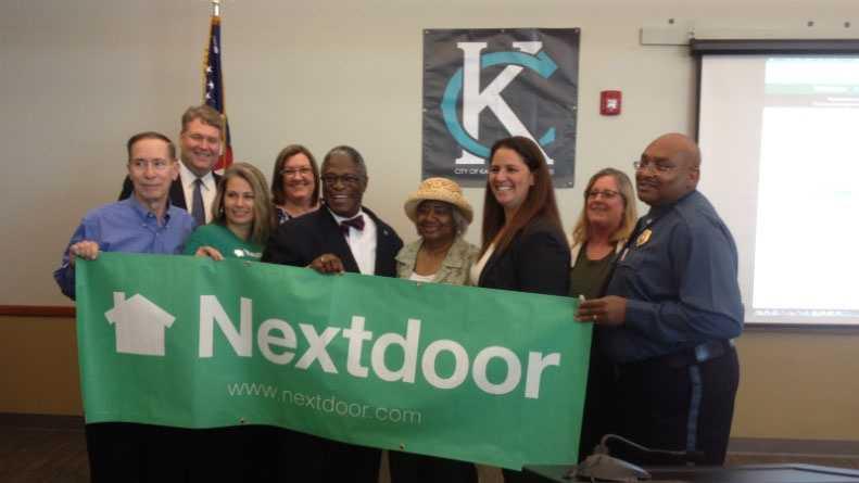 Image Nextdoor and Kansas City