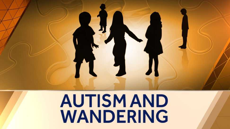 Image Autism and wandering graphic