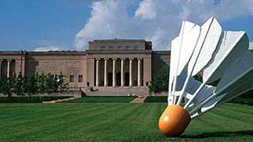 What's Kris' favorite place to visit in the Kansas City area?  The Nelson-Atkins Museum of Art.
