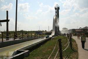 """KMBC 9 News took the plunge Thursday during our """"Hometown Weather"""" tour. We visited Schlitterbahn, the home of the world's tallest water-slide. Meteorologist Nick Bender climbed to the top for his live forecasts."""