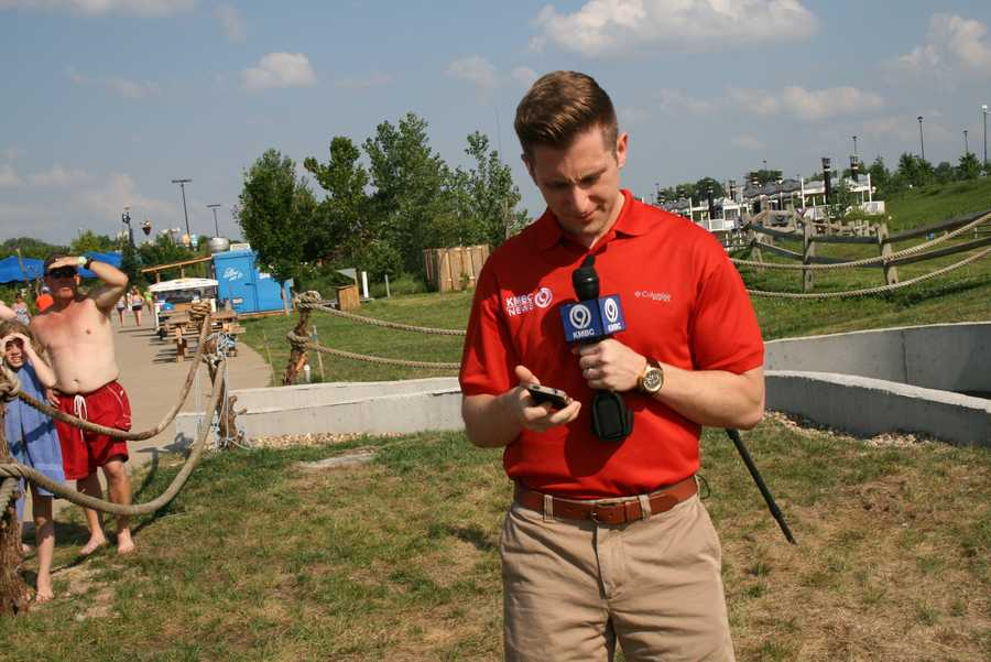 Standing by for a live report on KMBC 9 News at 5.