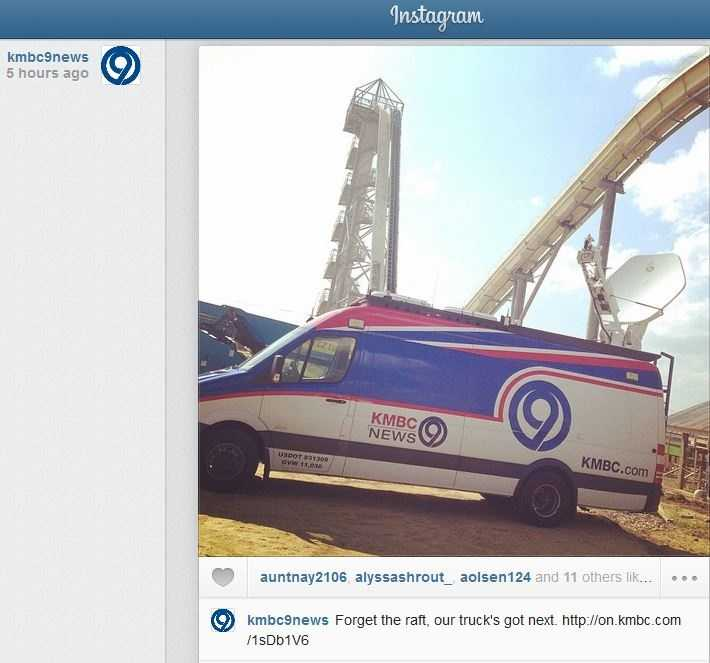 Posted to kmbc9news on Instagram.