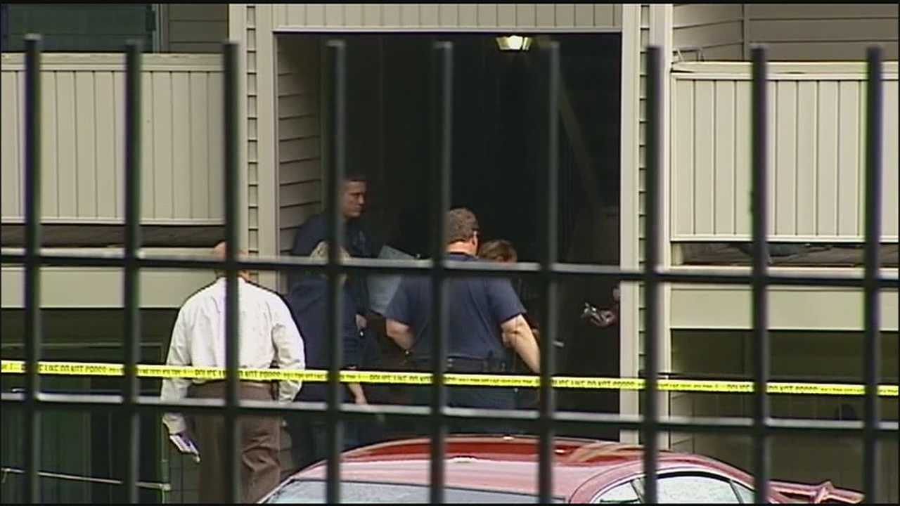Police said a 5-year-old boy suffered a critical injury after a gun discharged from another room in his apartment, sending a bullet through the wall and hitting the child.