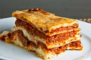"""What's Donna's favorite food? """"Lasagna, anything Italian,"""" Donna said."""