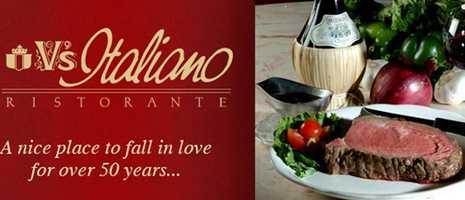 What's Donna's favorite restaurant? V's Italiano Ristorante.