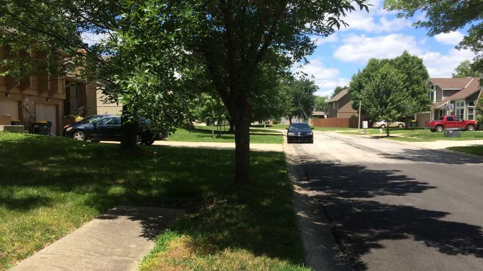 Article Overland Park car burglary scene