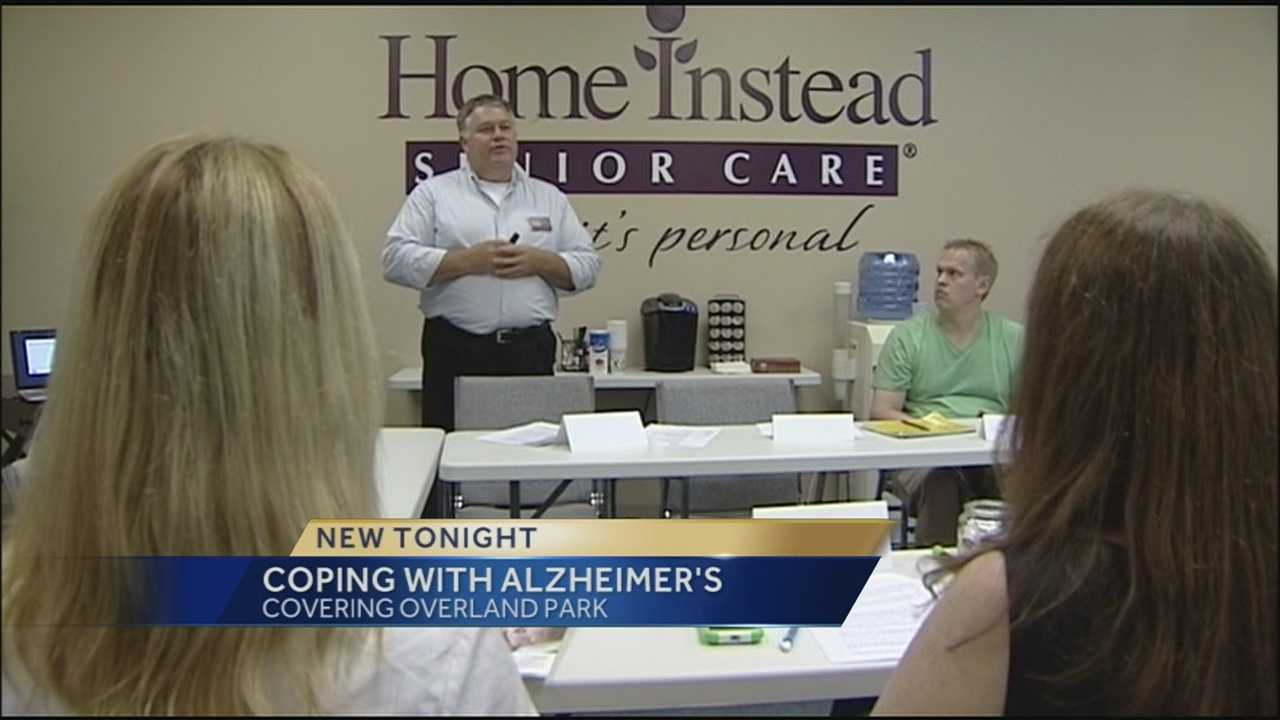 A class offered Tuesday in the Kansas City area helped people who take care of Alzheimer's patients deal with their own stress brought upon by the responsibility.