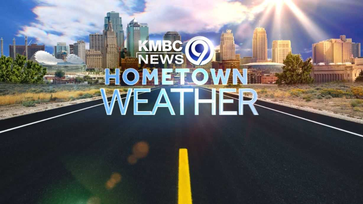 KMBC's Hometown Weather tour follows the MakerSpace mobile to the library Wednesday night.